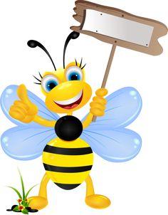 Bee cartoon PNG and Clipart Bee Rocks, Cartoon Bee, Bee Cartoon Images, Bee Clipart, Bee Pictures, Bee Party, Cute Bee, Clip Art, Bee Theme