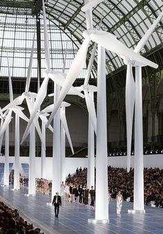 Chanel Spring 2013 RTW, at Grand Palais