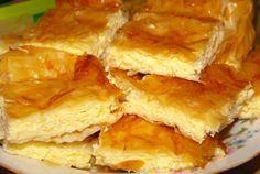 Placinta cu branza a bunicii! Iata ingredientul secret care o face Romanian Desserts, Romanian Food, Romanian Recipes, Vegetarian Recipes, Cooking Recipes, Healthy Recipes, Pastry And Bakery, Cheesecakes, Dessert Recipes