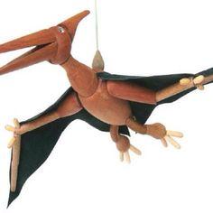 Peter ! O pterodáctilo de madeira!