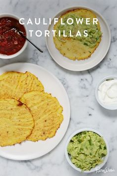 Cauliflower Tortillas #purewow #cauliflower #food #recipe