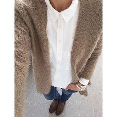 ... ich heute so ..., schönen Abend meine Lieben . Cardigan @tkmaxx (aktuell), Bluse @hm (aktuell), Jeans @zara (alt), Schuhe @tommyhilfiger (alt). #todaysoutfit #ootd #myoutfit #mystyle #streetstyle #fashionstyle #classy #dress #outfit #style #look #instastyle #instapost #outfitpost #outfitinspiration #styleinspiration #pic #lookoftheday #newin #cardigan #goodevening #iyiakşamlar #instaworld