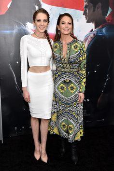 Diane Lane and Daughter at Batman v Superman Premiere 2016 | POPSUGAR Celebrity