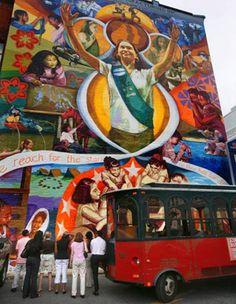 The City of Philadelphia Mural Arts Program Presents Brand-New Tours For Its 2013 Season