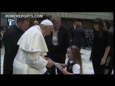 """Divertido encuentro entre Francisco y miles de niños: """"Yo no quería ser Papa"""""""