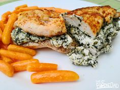 With recipe chicken for spinach breast stuffed