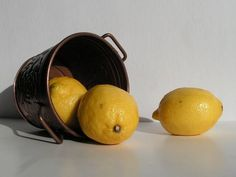 Still Life with Lemons from She-She at we tcanvas