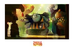 TROLLHUNTERS: early research for the troll market.