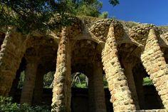 Park Güell - Barcelona by Quijuka Scrap World