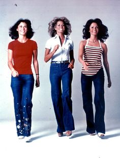 Charlie's Angels: Kate Jackson, Farrah Fawcett, and Jaclyn Smith