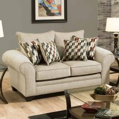 Ridge Loveseat (Matching Ridge Sofa also available.) | Weekends Only Furniture and Mattress