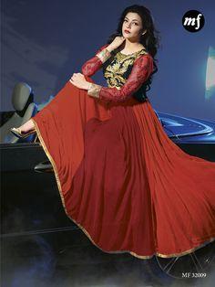KAJAL AGARWAL Exclusive Fancy Semi Stitched Anarkali - http://member.bulkmart.in/product/kajal-agarwal-exclusive-fancy-semi-stitched-anarkali-3/