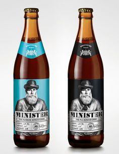Minister Beer #beer #packaging