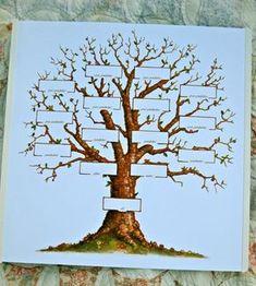 wood burning family tree - Google Search