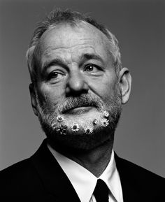 Daisy-sprouting Bill Murray features in Dutch visionaries Inez van Lamsweerde and Vinoodh Matadin's genre-bending show at LA's Gagosian Gallery on NOWNESS.