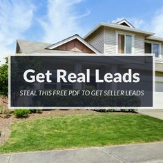Want a free guide to get real estate sellers? We did the heavy lifting for you. Download this guide today!