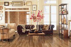 "Belle Meade 2.25"" - White Oak Natural in Mohawk Flooring Hardwood"