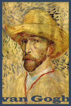 Probably the most famous painter in the history of Western art #vna Gogh #Vincent van Gogh #art tees #artistic shirts #wearable art Vincent Van Gogh, Van Gogh Museum, Art Museum, Pink Canvas Art, Van Gogh Pinturas, Van Gogh Self Portrait, Van Gogh Portraits, Portrait Art, Gauguin