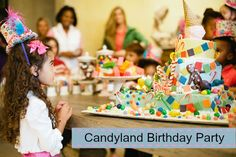 Love this Candyland Party from Trophy Mom Diaries. SO fun!