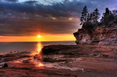 Burntcoat Head Provincial Park, Bay of Fundy, Nova Scotia