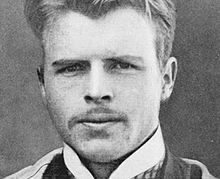 "Hermann Rorschach created the Rorschach inkblot test in 1921. (Photo circa 1910) Who knew he wasn't a bearded old man when he developed the ""inkblot test?"""