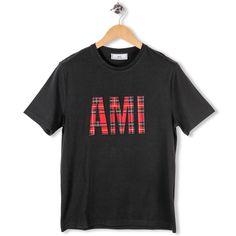 T-shirt AMI Tartan par AMI - Alexandre Matiussi