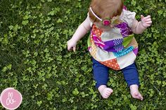 Cute St. Patrick's Day photo idea!