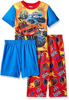 Cozy up in this extra comfy blaze 3-piece pajama set! the bright colors f17492a3d