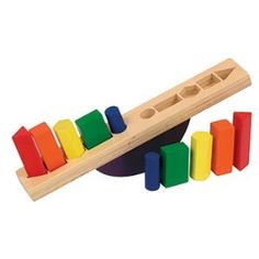 Amazon.com: Guidecraft Wooden See Saw Sorter: Toys & Games