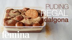 Pudding Desserts, Pudding Cake, Pudding Recipes, Cake Recipes, Snack Recipes, Dessert Recipes, Cooking Recipes, Snacks, Indonesian Desserts