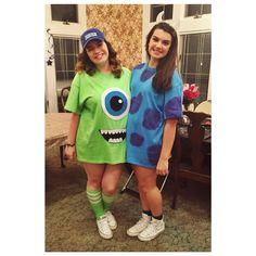 Monster's Inc costume DIY