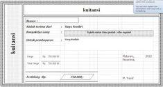 Yook Download Contoh: Download Kwitansi Sederhana File Excel Microsoft Excel, Microsoft Office, Photo Frame Ornaments, Ramadan Background, Model Kebaya, Powerpoint Design Templates, Diet Tips, Ss, Fishing