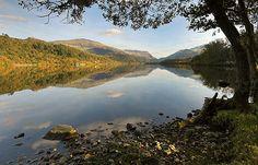 Llyn Padarn - Snowdonia by Stu Worrall, via Flickr
