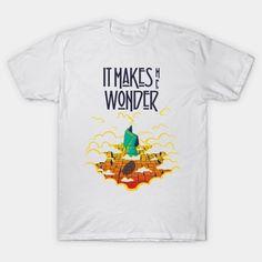 It makes me wonder - Rock - T-Shirt | TeePublic Makes Me Wonder, Rock Shirts, How To Make, T Shirt, Shopping, Supreme T Shirt, Tee Shirt, Tee