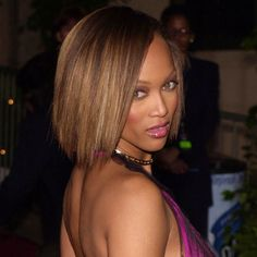 TYRA is one of my FAVORITES! I love this BOB she's rocking!