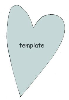 Heart Template Diy Arts And Crafts Paper Origami Valentine
