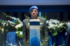 https://flic.kr/p/MS2QuX   Annual Memorial Service Honours Staff Who Died Serving the UN   At annual memorial service, the United Nations pays tribute to staff who fell in line of duty from 1 January 2015 to 30 June 2016.  UN Photo/Cia Pak United Nations, New York Photo # 701717