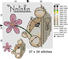 Cross Stitch For Kids, Cross Stitch Boards, Cross Stitch Baby, Cross Stitch Alphabet, Cross Stitching, Cross Stitch Embroidery, Simple Embroidery, Dmc, Modern Cross Stitch Patterns