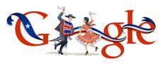 Google también festeja las fiestas patrias con nuevo Doodle. www.google.cl
