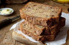 This bread is incredibly moist and flavorful. While Wheat Banana Bread King Arthur Flour One Bowl Banana Bread, Vegan Banana Bread, Banana Bread Recipes, Zucchini Bread, Whole Wheat Banana Bread, Banana Nut, Garlic Bread, Bread Recipe King Arthur, Gourmet