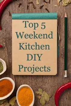 Great weekend projects to give your kitchen a little face lift! Other great projects too...
