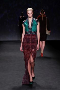 Vivienne Tam F/W 14 collection at New York Fashion Week