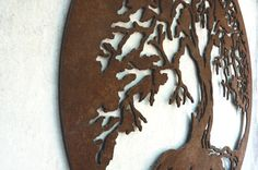 arbol decoracion plasma cut ironpig