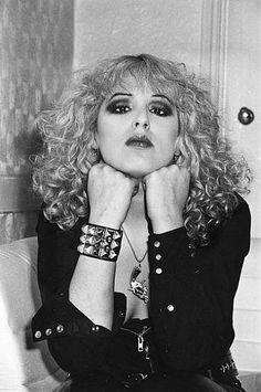 Nancy Spungen, the pain in those eyes.