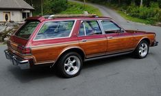 Learn more about 440 Six Pack Swapped 1978 Dodge Diplomat Sleeper Wagon on Bring a Trailer, the home of the best vintage and classic cars online. Dodge Wagon, Dodge Power Wagon, Dodge Trucks, Dodge Cummins, American Racing Wheels, American Muscle Cars, Dodge Aspen, Wagons For Sale, Vw Cars