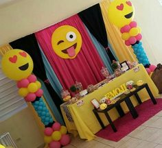 Emoji Fiesta Birthday Party