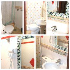 Cuarto de baños privados. Secador.