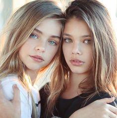 Laneya Grace y Jade Weber, hermosas modelos infantiles Beautiful Little Girls, The Most Beautiful Girl, Beautiful Children, Beautiful Women, Laneya Grace, Young Models, Child Models, Teen Models, Cute Young Girl