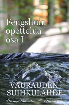 RunoTalon voimapuutarha: Fengshuin opettelua osa I: Vaurauden suihkulähde Banks, Nice, Nice France, Couches