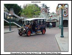 Disneyland Paris Photo Series #15 - Main Street Police Dept.